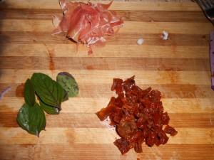Ingrédients Pizza italienne