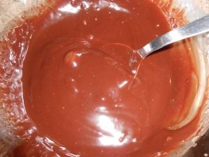 Folie chocolat noisette