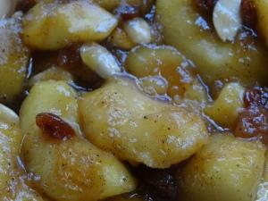 Crumble au sarrasin et aux pommes
