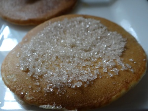 J'aime bien avec du sucre moi, ça craque sous la dent c'est super !