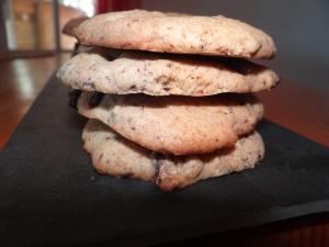 Cookies à la farine d'épeautre & aux pépites de chocolat