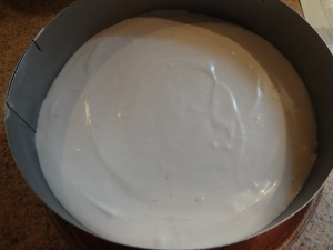 Entremet framboise, citron et chocolat blanc