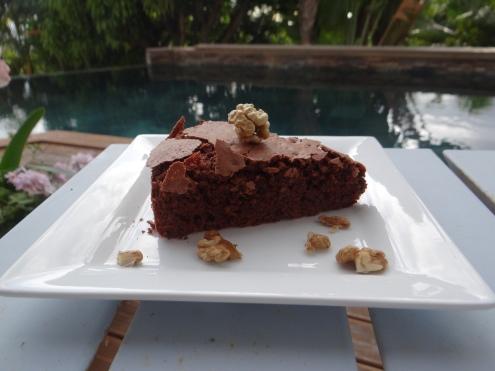 gâteau au chocolat & aux noix – les bêtises de nonette